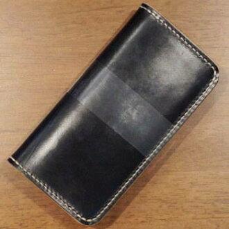 BD-CBM185 - natural black - bridle leather specifications CBM185-BDCBM185 - kurobane (CROW: Crow) long wallet (wallet)