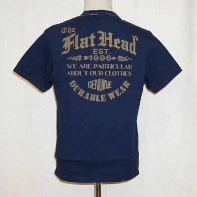 THC-180-ネイビー-EST.1996-THC180-FLATHEAD-フラットヘッドTシャツ-THC系【送料無料】【smtb-tk】【楽ギフ_包装】
