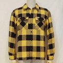 HN-52WR-イエロー-ヘビーネルシャツ52レギュラーサイズ-HN52WR-FLATHEAD-フラットヘッドシャツ【送料無料】【smtb-tk】【楽ギフ_包装】