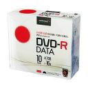(まとめ)ハイディスク データ用DVD-R4.7GB 16倍速 ホワイトワイドプリンタブル 5mmスリムケース TYDR47JNP10SC1...