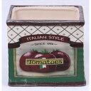 送料無料 2個入り 陶器プランター トマト プランター ポット プランターラック 鉢ポット フラワーラック 植木鉢 植木カバー ガーデニング アンティーク 西海岸 インテリア おしゃれ