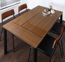食卓 テーブル単品 幅130×奥行き80×高さ72.5cm 異素材ミックスカフェスタイルダイニング paint ペイント ダイニングテーブル...