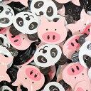 (全国送料無料) ジャック製菓 パンダだブー 120コ入り 子どもウケするおもしろネーミング!つかみ取りばらまきセット メール便 (4973887810115x120m)