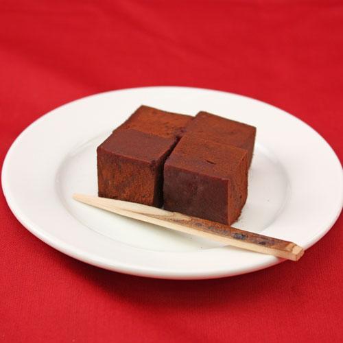 チョコレートわらび餅(500g)味はチョコレートなのにモチモチ食感和菓子《冷凍》