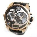 DIESEL ディーゼル メンズ腕時計 迫力サイズのモテ系デカ・クロノグラフ・ウオッチ☆4タイム表示 DZ7261 【RCP】 02P12Oct15