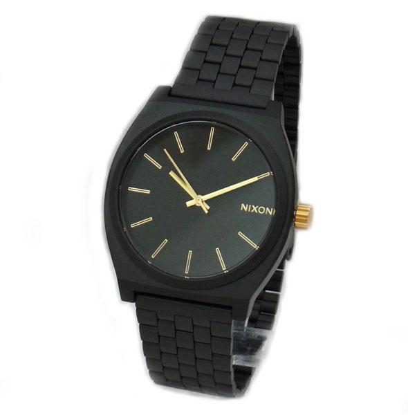 NIXON ニクソン メンズ腕時計 レディース腕時計 THE TIME TELLER タイムテラー マットブラック/ゴールド メンズウォッチ 男性用 レディースウォッチ 女性用 A0451041 A045-1041 【RCP】 02P12Oct15 NIXON ニクソン ユニセックス腕時計 A0451041