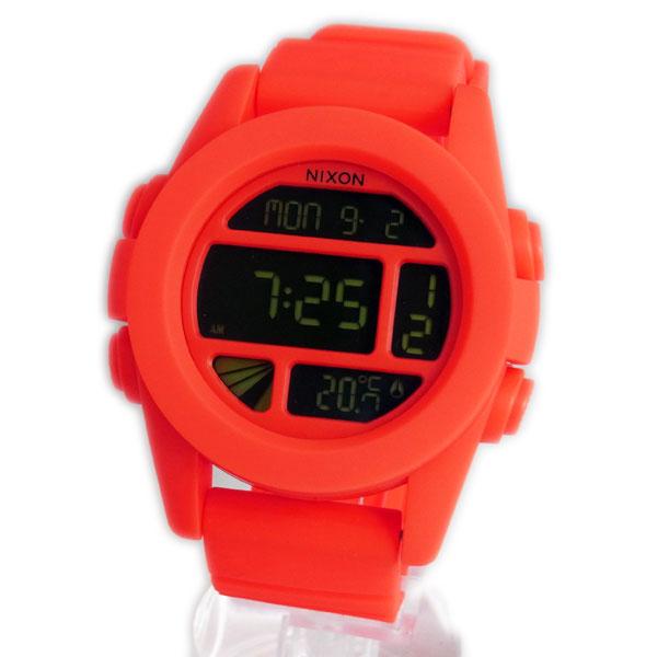 NIXON ニクソン メンズ腕時計 THE UNIT ユニット ネオンオレンジ デジタルウォッチ メンズウォッチ 男性用 A197-1156 A1971156 【RCP】 02P12Oct15D NIXON ニクソン THE UNIT メンズ腕時計 A1971156