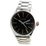 NIXON ニクソン 腕時計 メンズ SENTRY セントリー ブラック/ブラス 男性用 A356-2222 A3562222 【RCP】