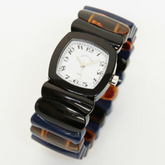 Time Will Tell タイムウィルテル ( タイムウイルテル ) watch Multi Colors black & multi-color mix modern & vintage pop Bangle, breath and watch Multi-ORRA 02P30Nov13