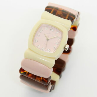 Time Will Tell タイムウィルテル ( タイムウイルテル ) watch Multi Colors rose pink & multi color mixes modern & vintage pop Bangle, breath and watch Multi-RORA