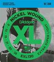 *【メール便対応、代引き不可】【ダダリオ エレキギター弦】エキストラスーパーライト D'Addario EXL-130(EXL130)