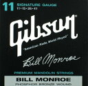 【Gibson】【マンドリン弦】SMG-BMS Bill Monroe Signature