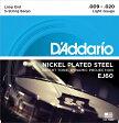 【D'Addario (ダダリオ)】5弦バンジョー弦 EJ60 Banjo 5-String/Light/Nickel