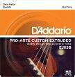 【D'Addario (ダダリオ)】【ウクレレ弦】Pro-Arté Custom Extruded Nylon Baritone EJ65B
