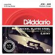 【D'Addario (ダダリオ)】【バンジョー弦】NY Steel ニッケル Medium 5弦 .010-.023 EJ61NY