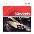 【D'Addario (ダダリオ)】【バンジョー弦】ニッケル Medium 5弦 .010-.023 EJ61