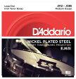 【D'Addario (ダダリオ)】【バンジョー弦】テナーバンジョー弦 ニッケル Medium 4弦 .012-.036 EJ63i