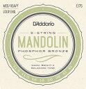 【D'Addario (ダダリオ)】【マンドリン弦】フォスファーブロンズ Medium Heavy .0115-.041 EJ75