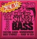 *【メール便発送、代引き不可】【ERNIE BALL(アーニーボール) ベース弦】#2834 スーパースリンキー