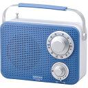 OHM キッチン・シャワー防滴ラジオ IPX4 ブルー RA...