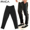 【Autumn SALE→20%OFF】 RVCA ルーカ スウェットパンツ メンズ SKINNY LEGGINGS PANTS 2020春夏 ブラック S/M/L 【evi】【SPORTS WEAR】【3E】