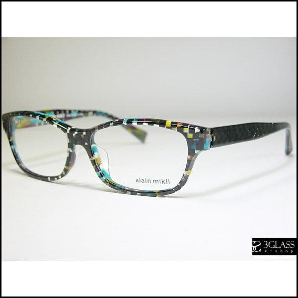 alain mikli アランミクリ メガネAO3023A カラーB0BW【楽ギフ_包装】 メンズ メガネ サングラス 眼鏡 10P26Mar16