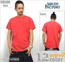 ショッピングウエア 【メール便対応】WASH FACTORY ウォッシュファクトリー 半袖 Tシャツ B系 ファッション メンズ ヒップホップ ストリート系 ウェア HIPHOP おうちコーデ