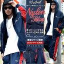 ジャージ 上下 メンズ セットアップ メンズ ナイロン メッシュ生地 大きいサイズ b系 ファッション【02P01Oct16】