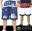 CIVIL CLOTHING 【シビル クロージング】 ハーフパンツ メンズ B系 ファッション メンズ ヒップホップ ストリート系 【10P03Dec16】