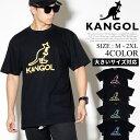KANGOL カンゴール Tシャツ メンズ 半袖 ネオンロゴ B系 ファッション メンズ ヒップホップ