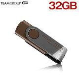 TEAM チーム USBメモリ 32GB 回転式 TG032GE902CX メ20 【1年保証】