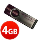 USBメモリ 4GB TEAM チーム usb メモリ キャップを失くさない 回転式 USB メモリ 4gb TG004GE902VX 【1年保証】シンプル おしゃれ コンパクト 人気 送料無料 usbメモリ