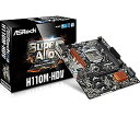 ASRock H110M-HDV(MB3503) IntelH110チップセット搭載mATXマザーボード