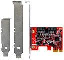 玄人志向 SATA3RI2-PCIe SATA6Gbpsを2ポートを増設するインターフェースボードRAID 0/1およびHyperDuo対応