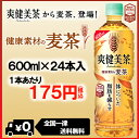 爽健美茶 健康素材の麦茶 600mlPET×24本【お茶 特保 トクホ コカ・コーラ ペットボトル  ...