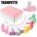 Trumpette / トランペット ソックス 靴下 PIXIE PASTEL ピクシーパステルベビーソックス [ 6足セット ] (生後0〜12ヶ月前後)【 ...
