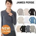 【ハロウィン祭限定クーポン配布中!】 JAMES PERSE ジェームスパース Tシャツ ロングTシャツ SHEER SLUB LONG SLEEVE CREW...