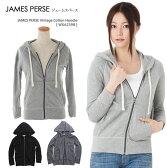 JAMES PERSE ジェームスパース パーカーVintage Cotton Hoodie [ WXA2398 ] JAMES PERSE ヴィンテージコットンフーディー ジェームスパース パーカー 長袖 レディース 送料無料
