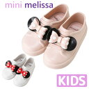 Melissa メリッサ ラバーシューズ 靴 キッズ サンダル melissa Mini Melissa Be + Minnie ディズニー コラボ