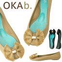 ショッピングオカビー オカビー バレエシューズ OKA b. Elsie Matte Ballet Flat フラット オカビー パンプス 靴 ラバーシューズ ぺたんこ 靴 レディース リゾート ビーチ