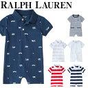 【クーポンで最大10%オフ】 ポロ ラルフローレン カバーオール 半袖 ベビー キッズ 男の子 Polo Ralph Lauren 6-2歳