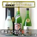 丸竹酒造 日本酒 飲み比べセット【E】 四合瓶(720ml)