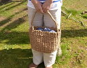 週末ポイントアップ祭♪P10倍開催!柔らかく手触りのよいバンクアン素材のバッグ【かごバッグ*女性用バッグ】レディース