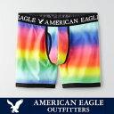 ショッピングアメリカンイーグル 【American Eagle】アメリカンイーグルボクサーパンツ レインボー 虹色 ae1823