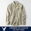 ショッピングアメリカンイーグル アメリカンイーグル メンズ カジュアルシャツAE SHIRT 長袖 ギンガムチェック ボタンダウンシャツ American Eagle AE ae1826