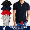 【American Eagle】アメリカンイーグルAE POLO メンズ 半袖ポロシャツae1861