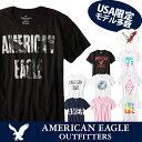 【American Eagle】アメリカンイーグル正規品 メンズ AE 半袖 Tシャツ(ae77)