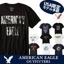 エントリーするだけ【ポイント5倍】6/21(木) 2時まで【American Eagle】アメリカンイーグル正規品 メンズ AE 半袖 Tシャツ(ae77) アメカジ アメリカ ブランド