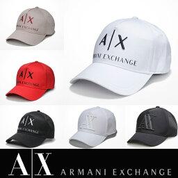 【A/X】アルマーニ・エクスチェンジ・ユニセックスARMANI EXCHANGE 正規キャップ ハット 帽子ax472 ホワイト ブラック