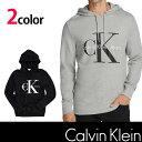 カルバン・クライン【Calvin Klein】メンズ 長袖プルオーバー パーカー ck336 グレー